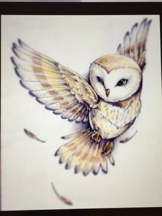 Owl tattoo so can't wait to get