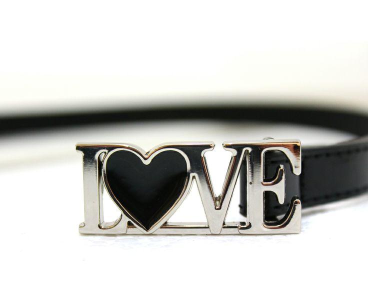 """""""LOVE""""-belt for women.  www.veniz.fi"""