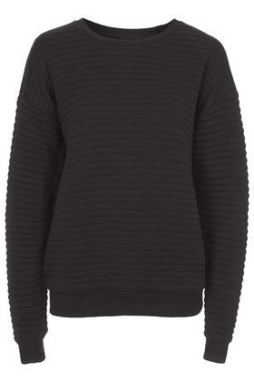 Oversized Ribbed Sweat by Boutique