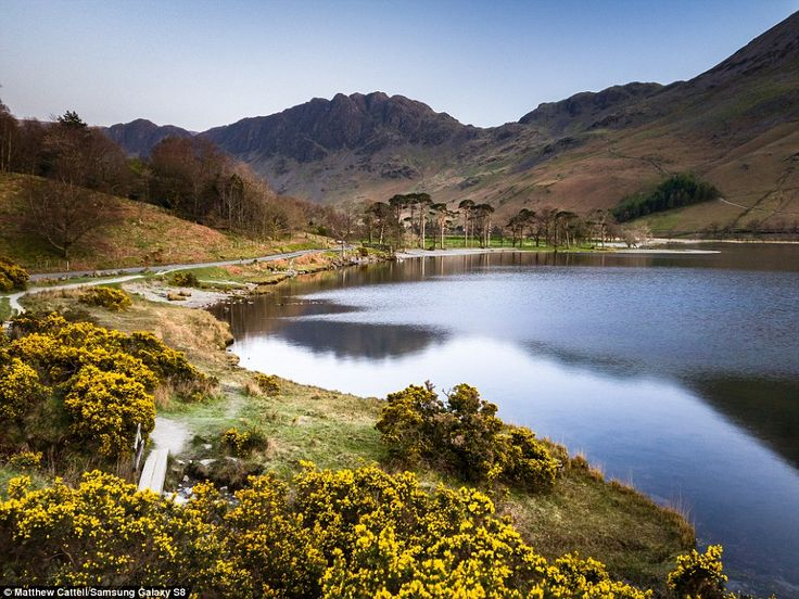 Buttermere in the Lake District, England