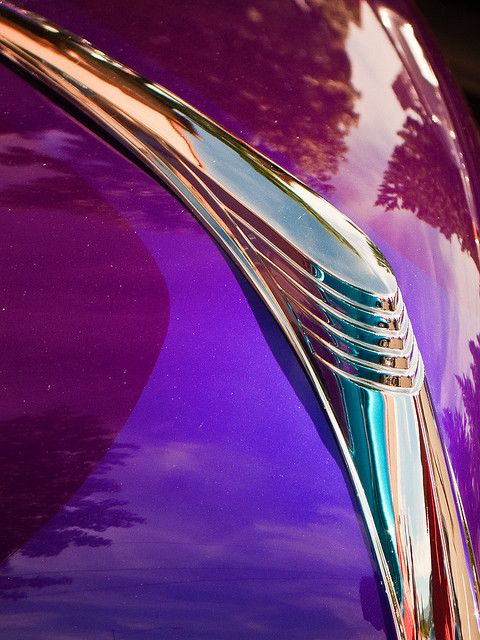 Art Deco hood ornament, by Jackson Carson