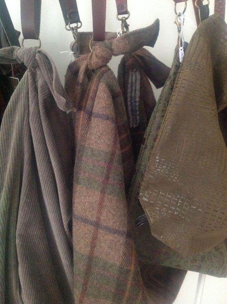 Bolsos lana handmade