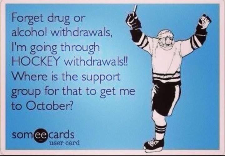 Hockey season hurry up!