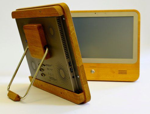 Wooden Touch Pad Computer is 98% RecyclableNature Wood, Technology, Pads Computers, Wooden Products, Wooden Computers, Wooden Touch, Awesome Gadgets, Natural Wood, Touch Pads