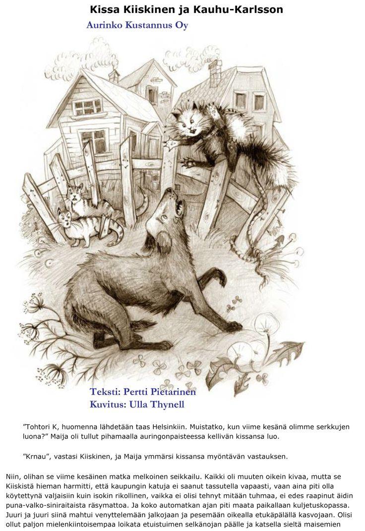 Kissa Kiiskinen ja Kauhu-Karlsson
