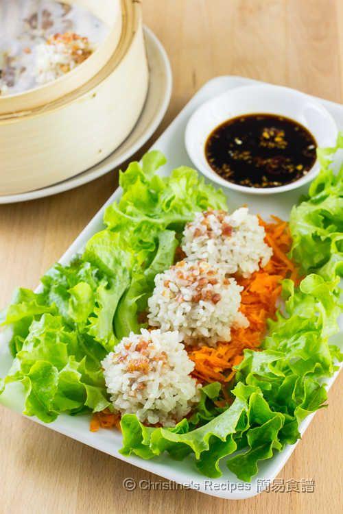 鴛鴦臘腸珍珠丸子【美心特約食譜】 Lap Chang Pearl Meatballs from 簡易食譜