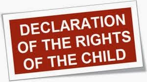 From now forward~☆: Declaration of the Rights of the Child     Adopted...