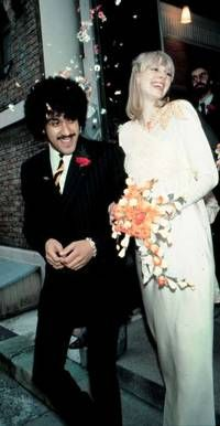 Phil & Caroline on their wedding day
