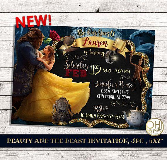 Partido nueva belleza y la bestia invitaciones, belleza y la bestia fiesta, cumpleaños de la bella y la bestia, bestia de la bella y la bestia, belleza, partido, pizarra, belleza y la bestia invitaciones, belleza y la invitación de la bestia, belleza e invitaciones de cumpleaños de la bestia, la bella y la bestia ¡Personalizada su cumpleaños especial con esta única invitación de fiesta de cumpleaños! Este listado está para una invitación digital personalizado con tus datos del evento…