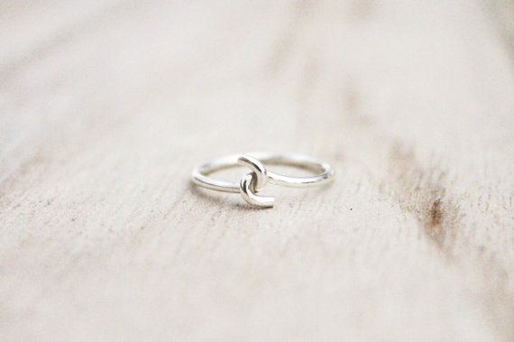 Pinky promise ring promise ring friendship ring by CallieJewelry