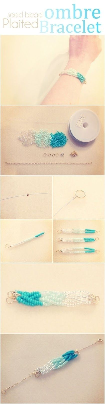 Or, go for an Ombre Braid | Community Post: 24 Super Easy DIY Bracelets