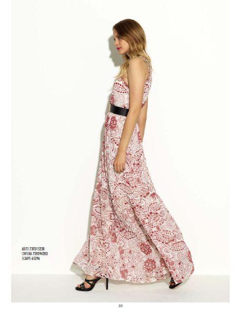 Ponto Moda: GAUDI - primavera branca e vermelha