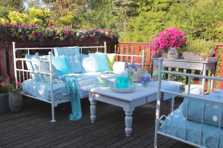 Summer balcony  #dekoriapl #summer #balcony #inspiration #decoration #diy #colorful #garden #interior #homedecor #decorations #pastele