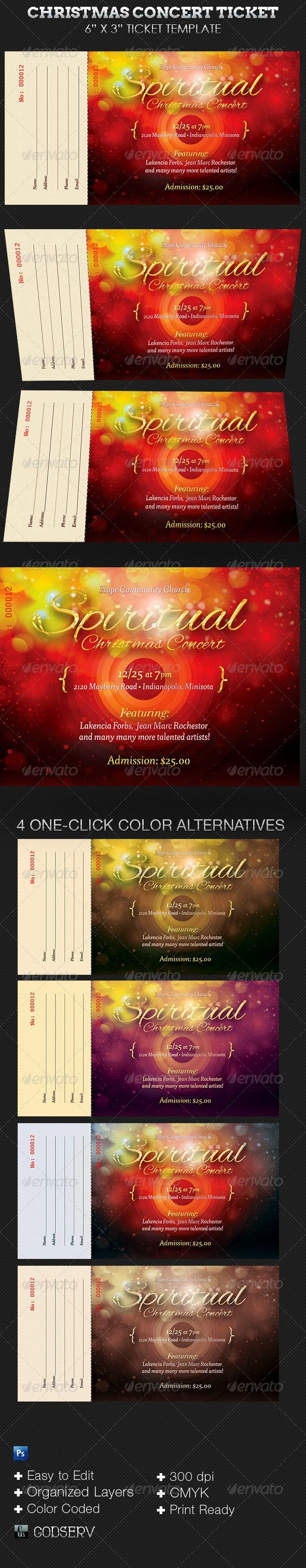 Concert Ticket Template Free Download Entrancing 14 Best Layoutstext And Images Images On Pinterest  Brochures .