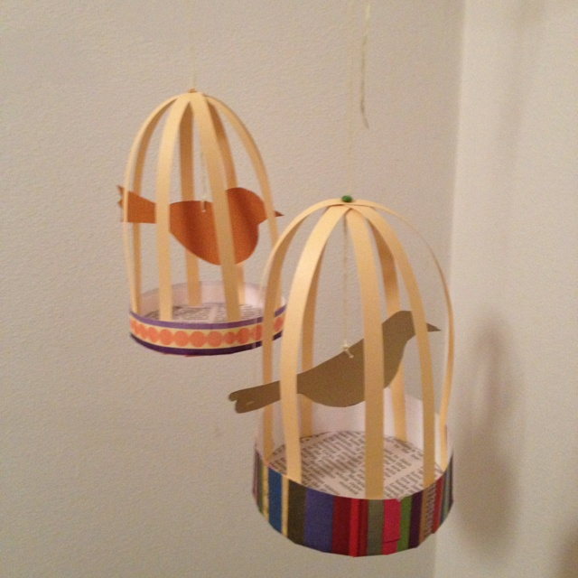 Birds of a feather for Day 22 of #30DoC. Put my own spin on a great inspiration DIY.