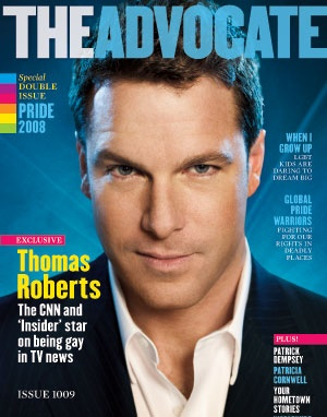 Anchorman Thomas Roberts on MSNBC inspires Equality! We love this man. : )