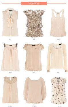 Ideas de blusas