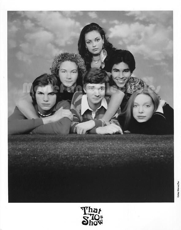 That '70s Show Photo Mila Kunis Ashton Kutcher Topher Grace