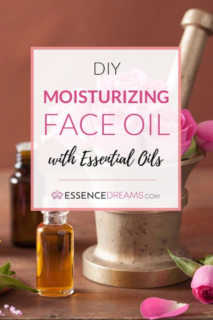 Diy Moisturizing Face Oil Make Your Own Moisturizer With Essential Oils At Home With This Easy Recipe In 2020 Homemade Moisturizer Homemade Oil All Natural Skin Care