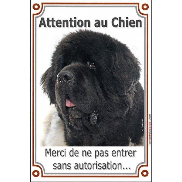 plaque portail attention au chien