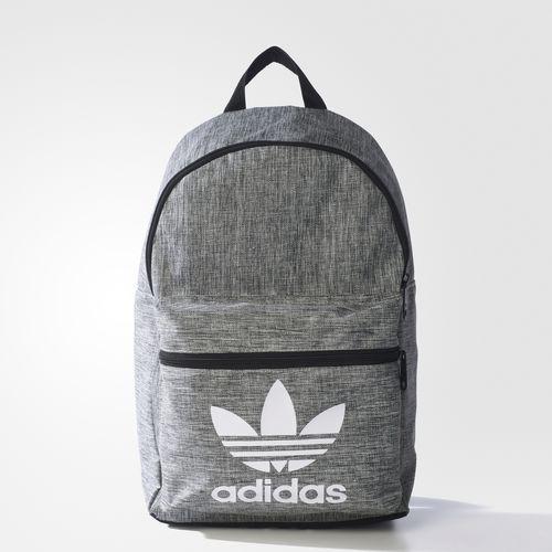 mochila adidas gris