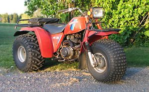 1984 honda big red three wheeler 200cc
