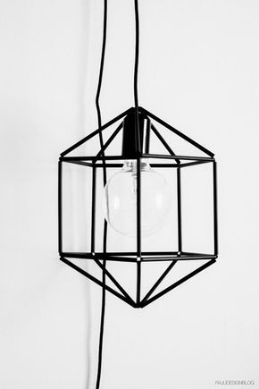 DIY straw lampshade by RAJU Design blog. English & Finnish. With instructions.