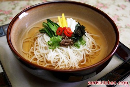 Guksu Or Noodle Soup Is A Traditional Wedding Food In Korea Where The Long Noodles Are Said
