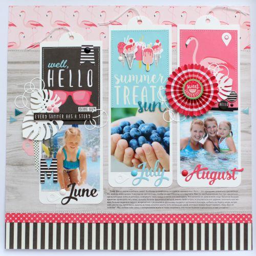"""Scrapbook Your Summer Memories with """"Summer Fun!"""""""