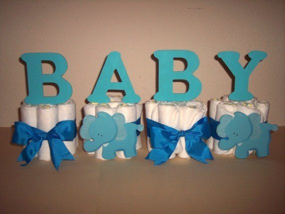 Diaper Cake Letters On Etsy 9 00 Edit Sold As A Set
