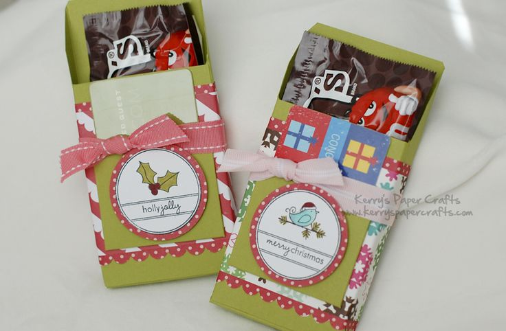candy and gift card holder