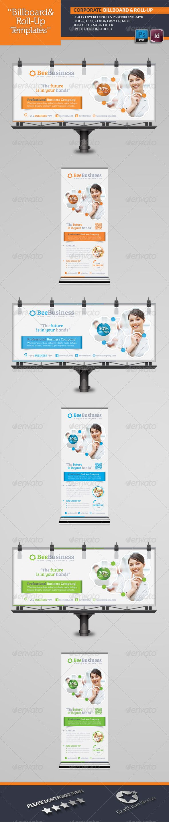 Corporate Billboard Template  #GraphicRiver        Corporate Billboard Template  Fully layered INDD   Fully layered PSD   70×30 and 30×70 Inches .Indd   70×30 and 30×70 150 Dpi .Psd   Fully layered PSD   300 Dpi, CMYK   IDML format open Indesign CS4 or later  Completely editable, print ready  Text/Font or Color can be altered as needed  All Image are in vector format, so can customise easily  Images Not Inculed  Font Links: Lato Font:  .fontsquirrel /fonts/lato Bree-serif:  .fontsquirrel…