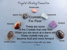 Crystals for Flow