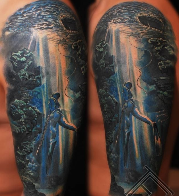 17 Best Ideas About Scenery Tattoo On Pinterest