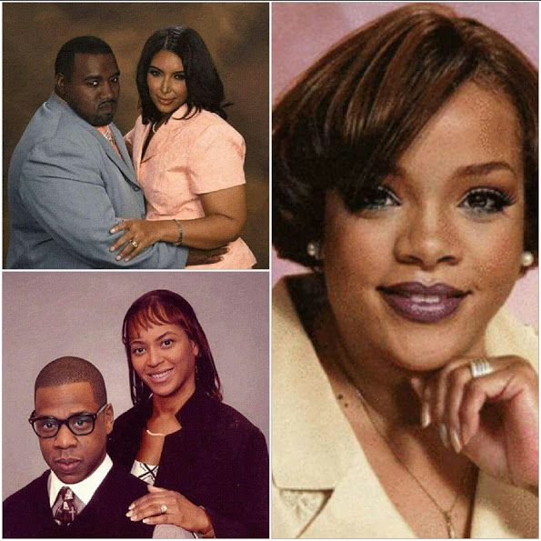 Welcome To Vickitarose's Blog: This is how Rihanna kenye west kim Kardashian Beyo...