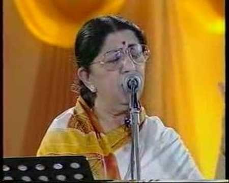 Lata Mangeshkar - Jo Wada Kiya (Live Performance)
