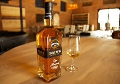 Bain's Cape Mountain Whisky became South Africa's first to win the World's Best Grain Whisky title at the World Whisky Awards in London on 21 March 2013