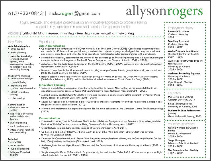 21 best resume patterns images on pinterest resume cv resume