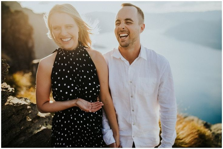 Cecil Peak Queenstown Engagement Photos
