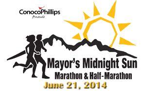 Mayor's Midnight Sun Marathon & Half Marathon in Anchorage, Alaska!