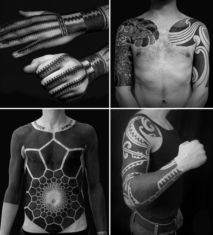 Дневник дизайнера жизни - Путеводитель по блэкворку — уникальному стилю татуировок