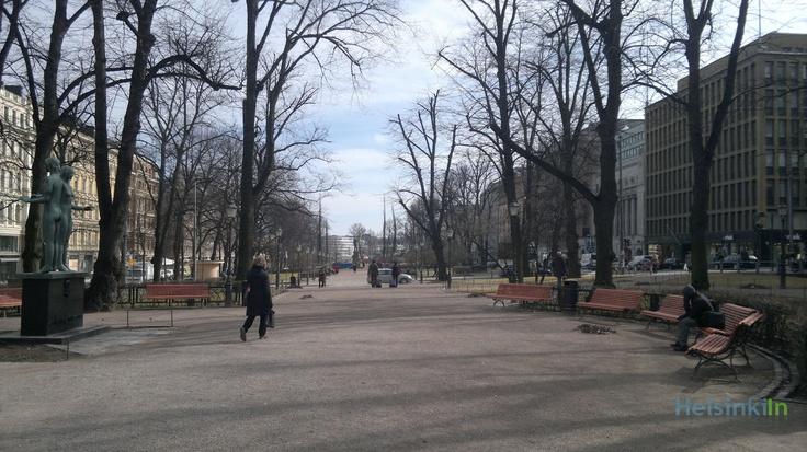 Esplanadi in April 2012