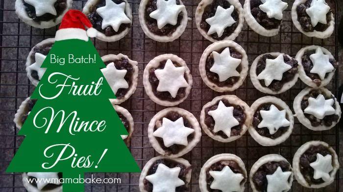Fruit Mince Pies Big Batch!