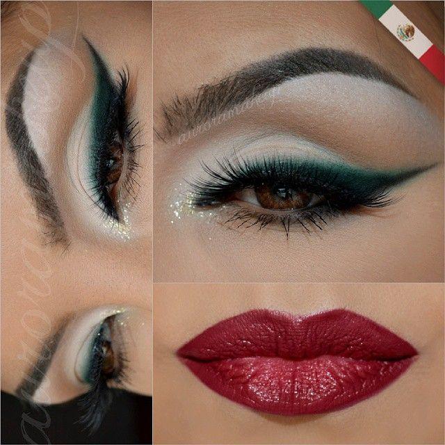 http://instagram.com/auroramakeup - estilo Mexicana!