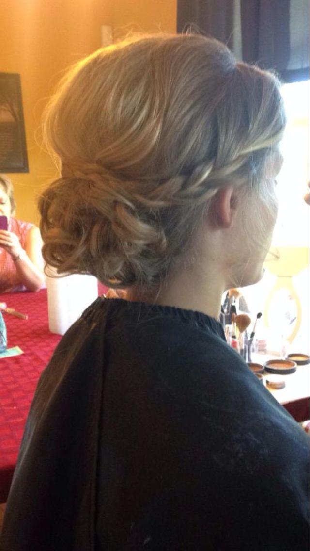 @Taylor Ashley  prom hair 2014