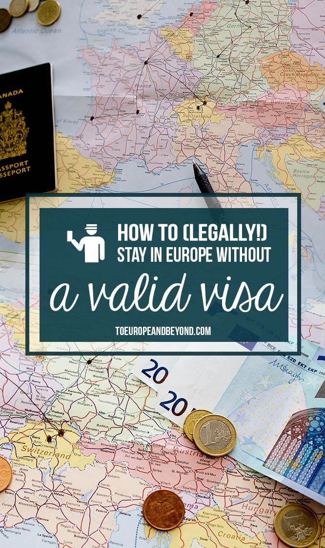 How to LEGALLY stay, live and vacation in Europe without a visa: a few tips and tricks for Canadians and Americans. More here: http://toeuropeandbeyond.com/how-to-stay-in-europe-without-a-visa/