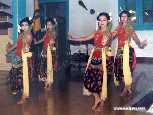 Madura Traditional Dance - Madura - East Java. Drajat traditional dance. This dance is symbolizing the rise of the prince to be a heir of the King. Brought by Madurese girls, this dance is usually shown for welcoming the importan guests who passing by to Madura.