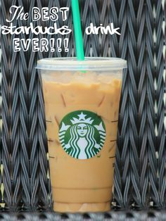 The Best Starbucks Drink Ever Low Calorie No Sugar Fat Recipe