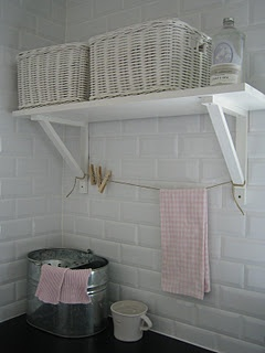 ...shelf idea for the laundry room
