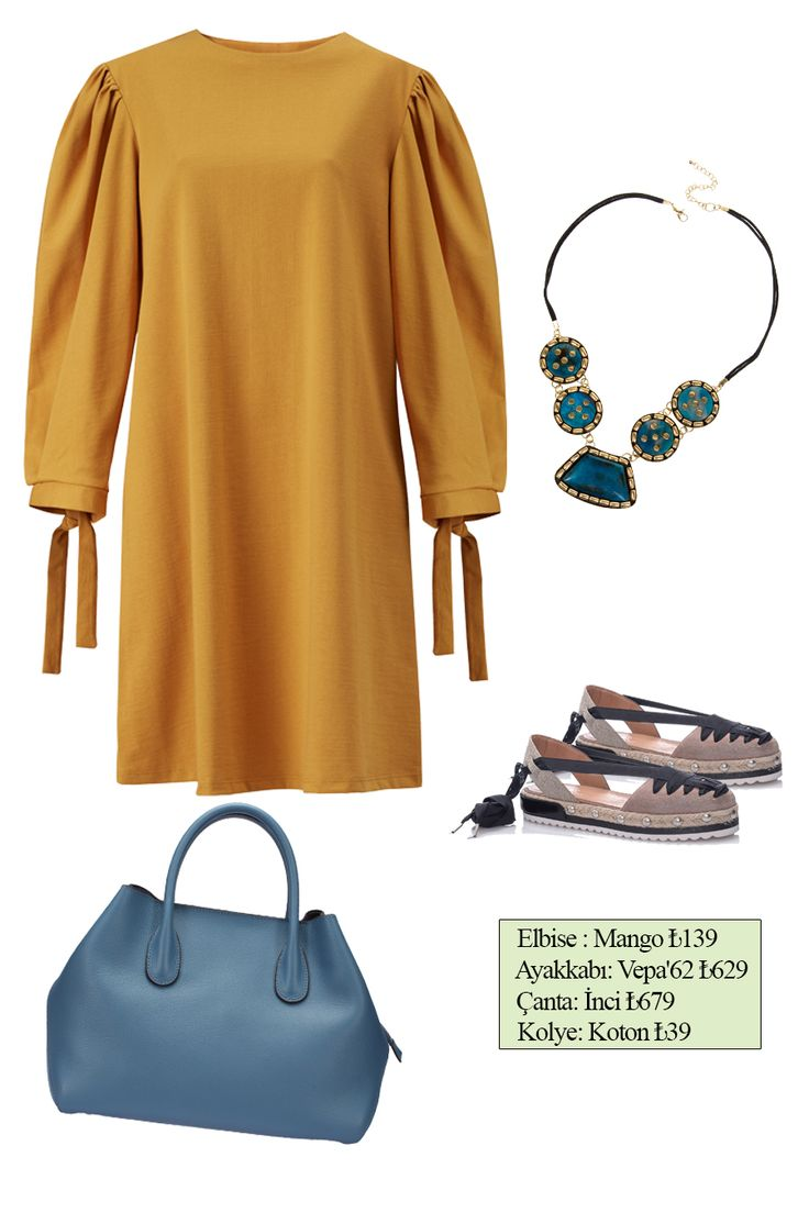 Spring trends dress outfit
